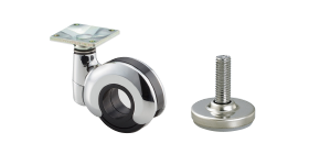 Casters and Leveling Glides
